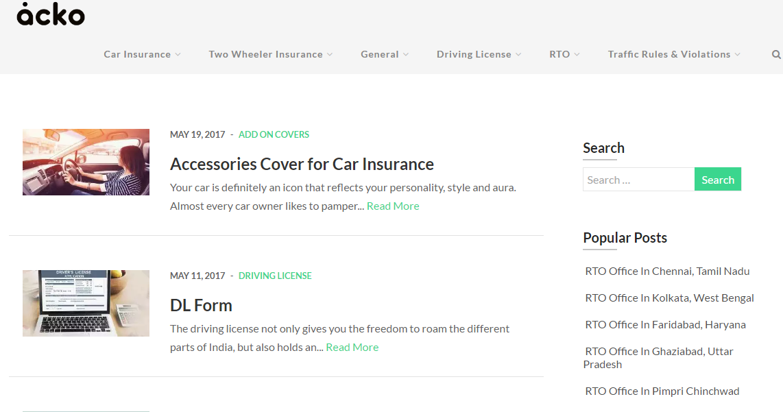 Acko General Insurance